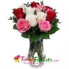 send roses vase to tokyo