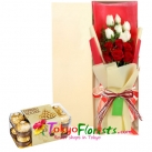 send flowers with chocolate to tokyo