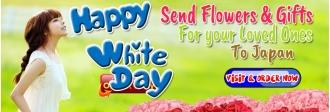 send white day gifts arrangement to tokyo