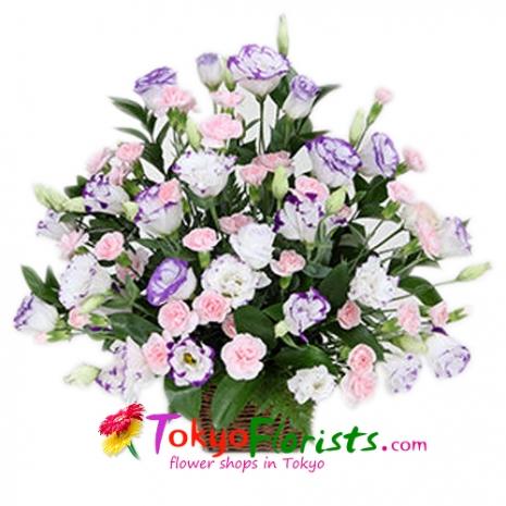 send flowers basket to tokyo